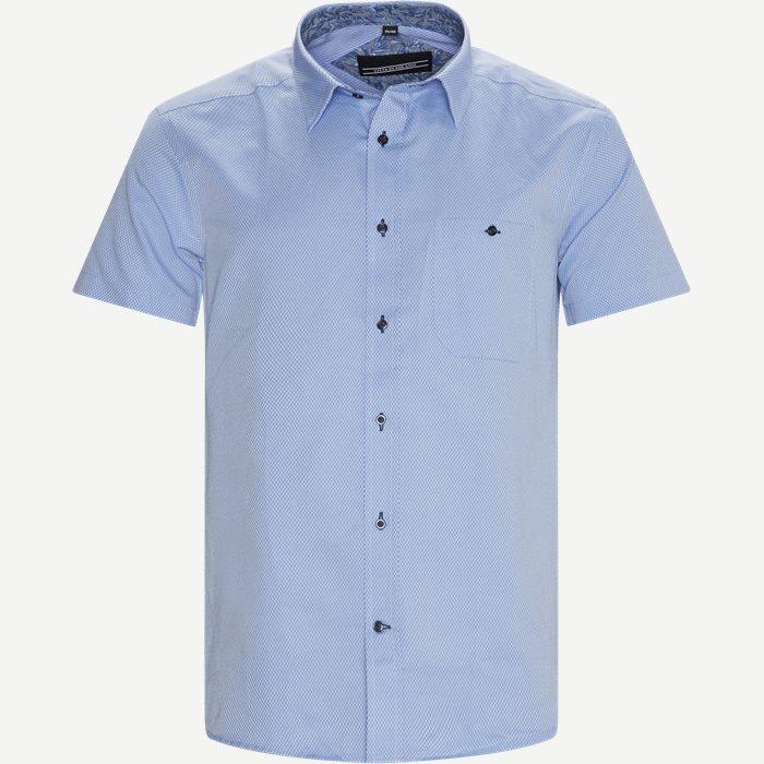 Brais Kortærmet Skjorte - Kortærmede skjorter - Regular - Blå